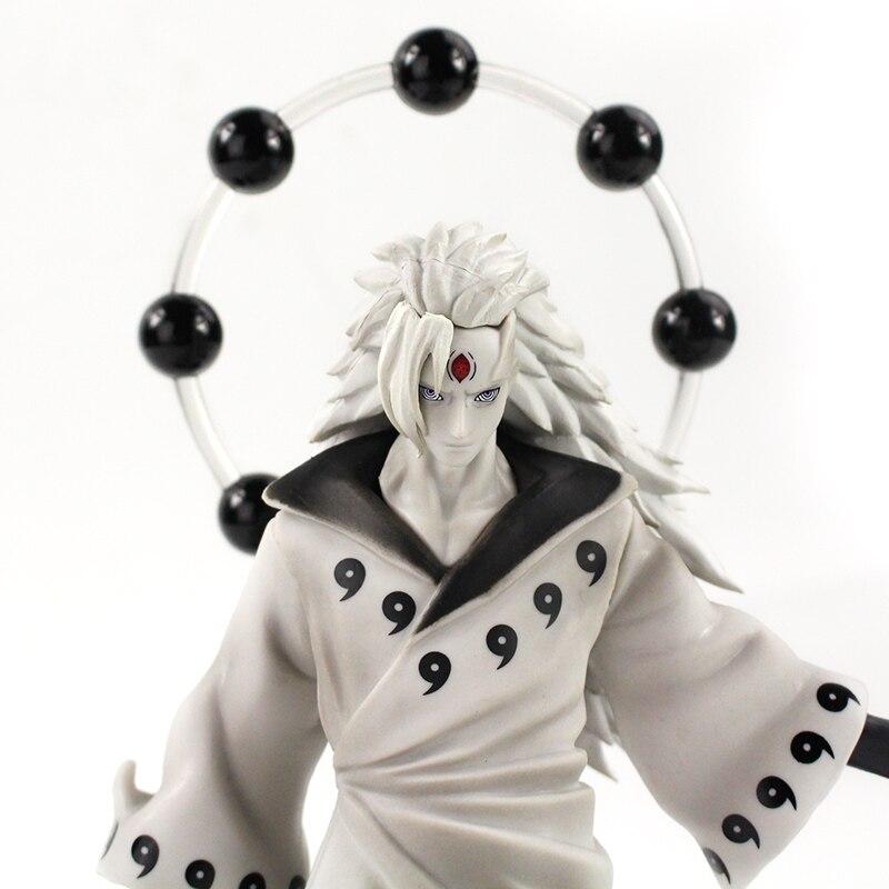 25-27cm Naruto Figure Statue Uchiha Obito Rikudou Sennin Decoration Toys PVC Collection Model Doll Gift 37
