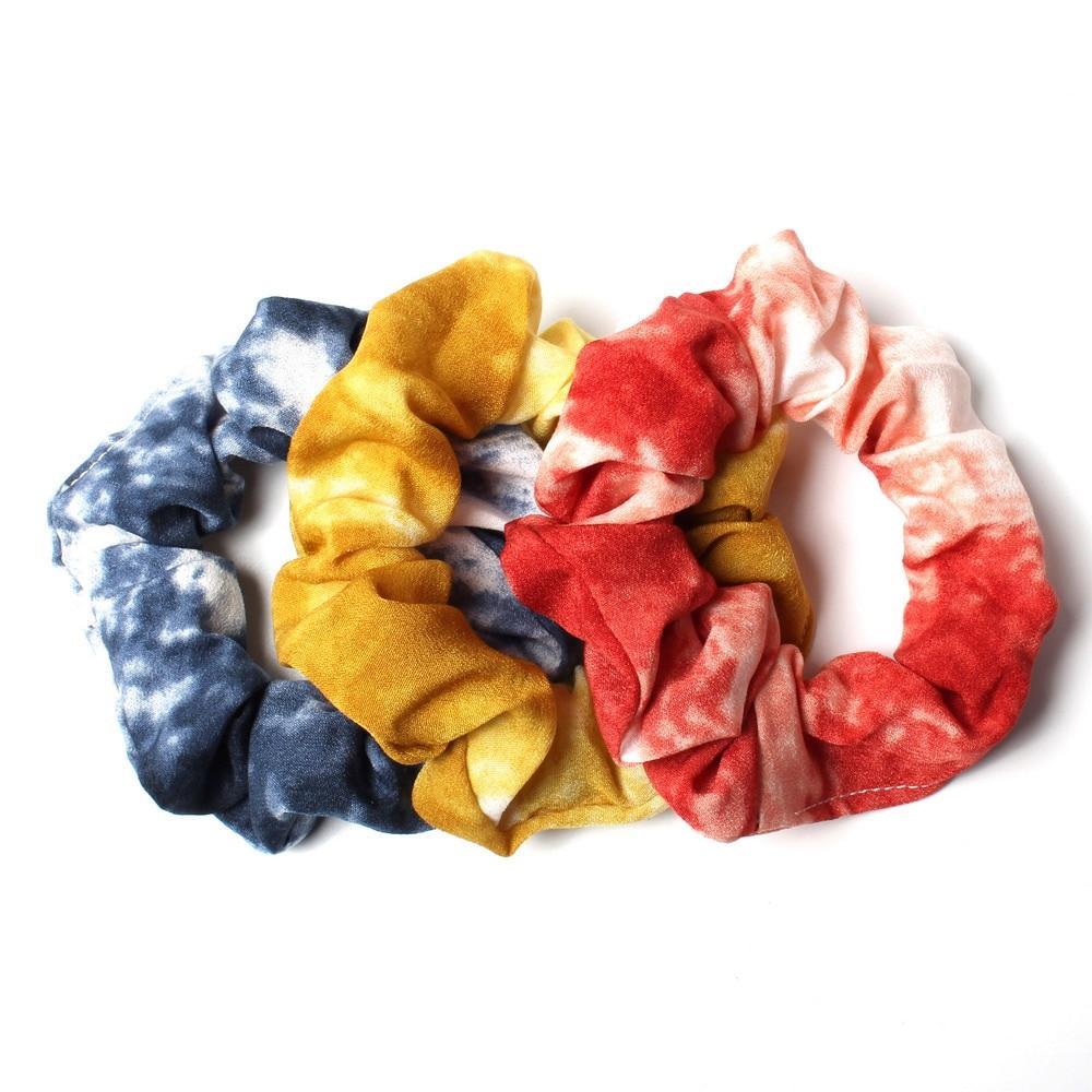 3Pcs//Set Elastic Hair Bands Srunchies for Girl Ponytail Holder Rubber Hair Rope
