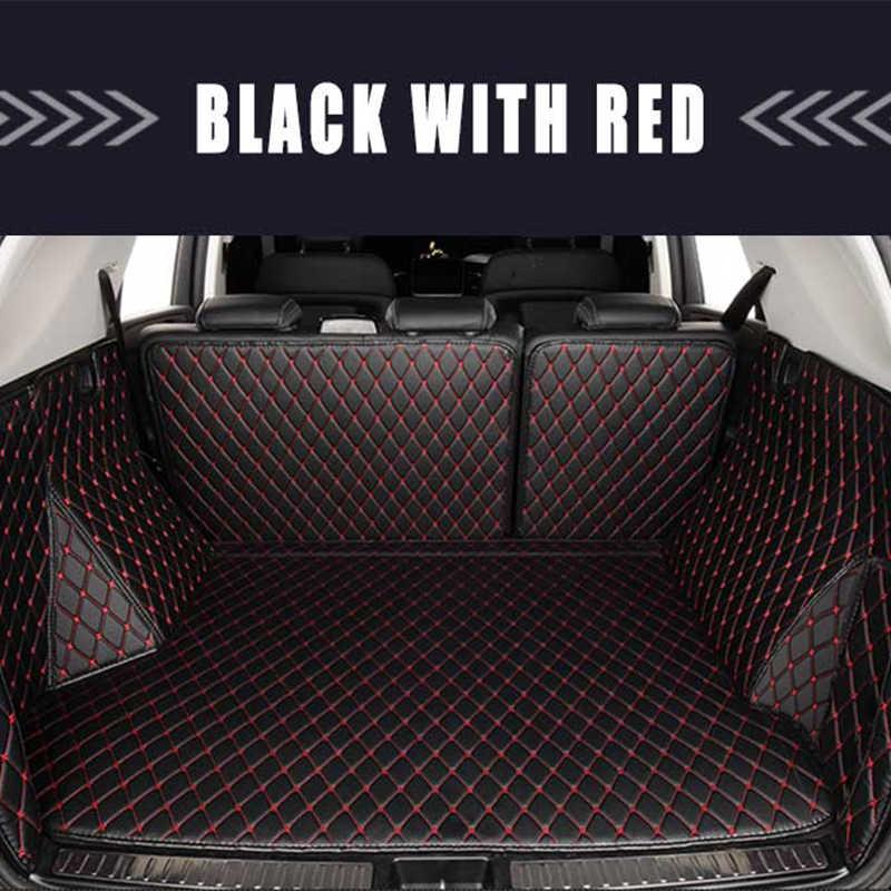 Kargo astar kat gövde halı kilim paspaslar araba pedi oto iç aksesuarları için Ford Mondeo Fusion 2013 2014 2015 2016
