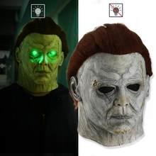 Máscara de Terror para Halloween, mascarilla de Michael Myers para fiesta, Cosplay, Joker, apoyos del casco, Calavera