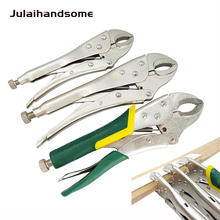 Curved Jaw Locking Pliers Hand Tool Fixed Clamp Tool workpro 3pc locking pliers welding tools pliers set 7 10 curved jaw pliers 6 1 2 straight jaw pliers