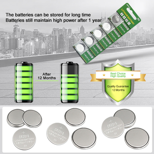 Image 4 - PUJIMAX 5pcs/pack CR2016 Lithium Battery 3V LM2016 BR2016 ECR2016 toy watch computer LED light coin disposable button battery