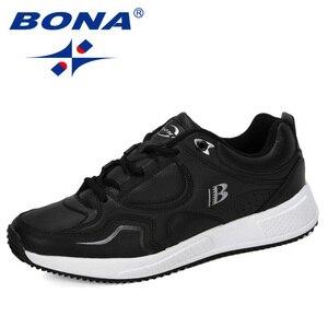 Image 2 - بونا جديد مصمم بقرة سبليت احذية الجري أحذية رياضية الرجال ترتد في الهواء الطلق أحذية رياضية أحذية تدريب المهنية رجل عصري