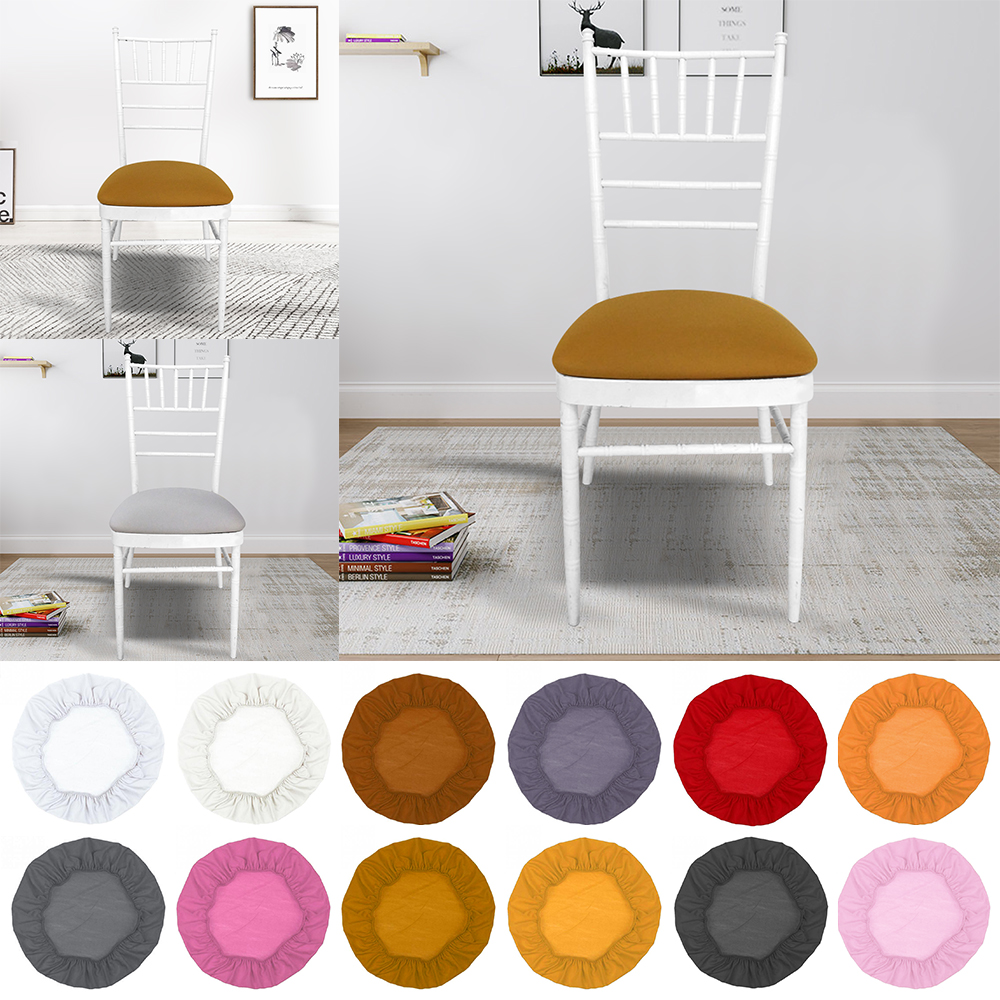 New Removable Spandex Stretch Elastic Chair Hood Seat Covers Dining Room Wedding Banquet Chair Covers Decor Washable Slipcover