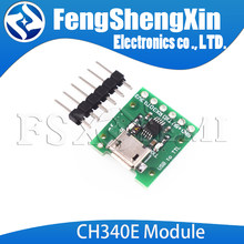 Ch340e msop10 usb para ttl módulo pro mini downloader