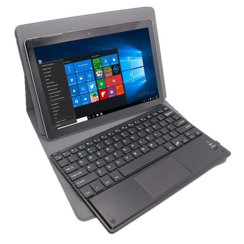 10.1 Windows Tablet PC  Windows 10 2GB+32GB/64GB HDMI 1280*800  IPS Screen QuadCore 32-bit With Bluetooth Keyboard Case