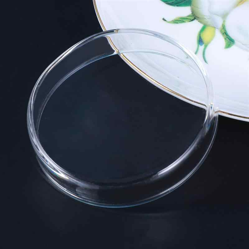 กระจกโปร่งใสกุ้งอาหารจานปลาขนาดเล็กชามประดับอุปกรณ์ชามแก้วประดับกุ้งให้อาหารชาม