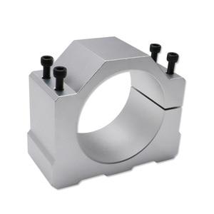 Image 5 - Livraison gratuite livraison rapide 1 ensemble 1.5 kw 110 v/220 v/380 V broche refroidie par air + VFD + 80mm support + 1 ensemble ER11 pour CNC