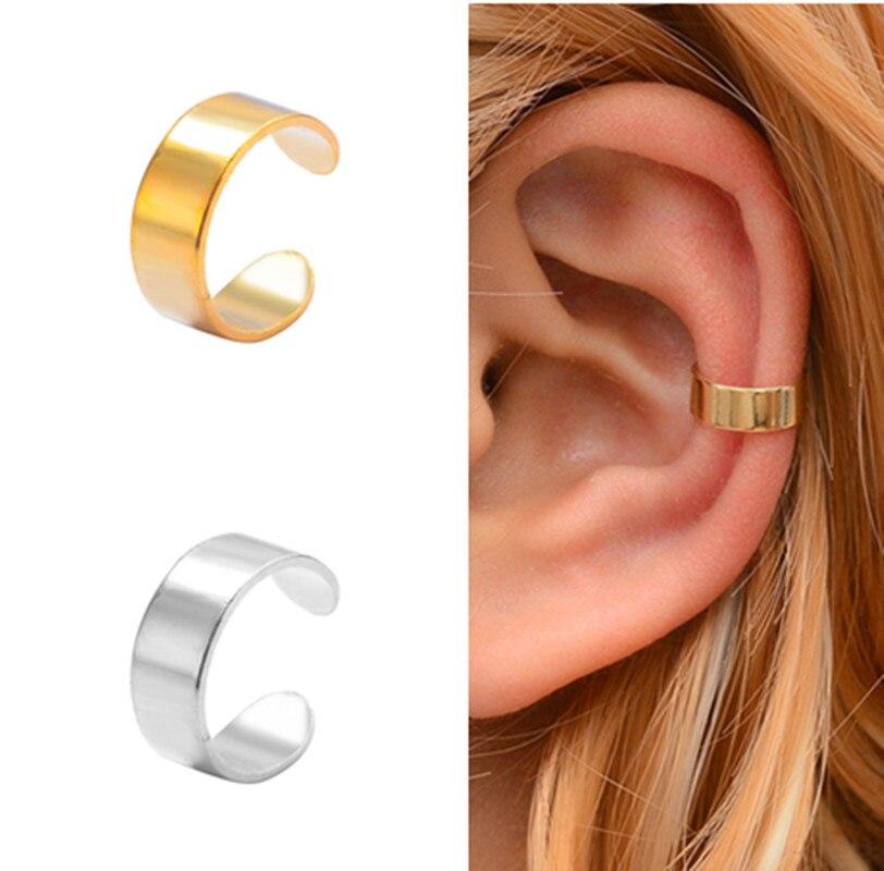 Fake Earring Cuff-Wrap Ear-Clip Punk Jewelry Man/women Unisex on Simple 1piece