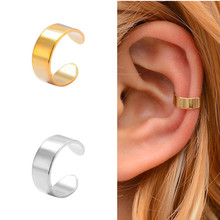 Fake Earring Jewelry Cuff-Wrap Ear-Clip Simple Man/women 1piece Punk Unisex on