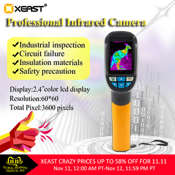 2018 Hot sales Digital Multimeter 6000 counts Backlight XE-608 and Sell Hot IR Thermal Camera manufacturer flir camera HT-02