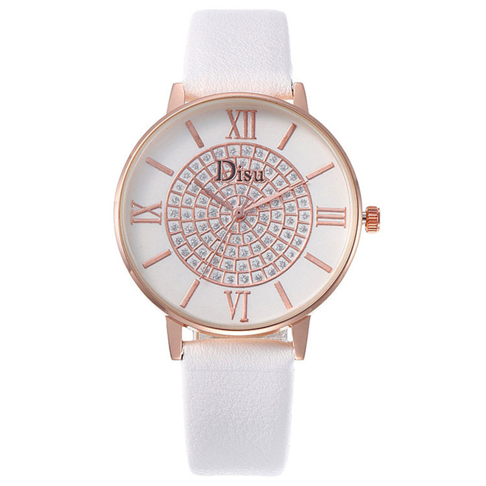 Diamond Women's Watch All Stars Series Personality Ladies Watch DISU Luxury Brand Quartz Watch Watches Women Fashion Watch 2018