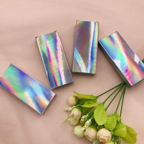 caixa de cilios holograficos caixa brilho