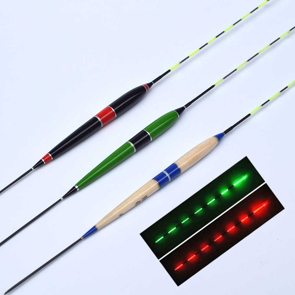 Smart Fishing Float Night Luminous Fishing Floats Light New Automatically A6W6
