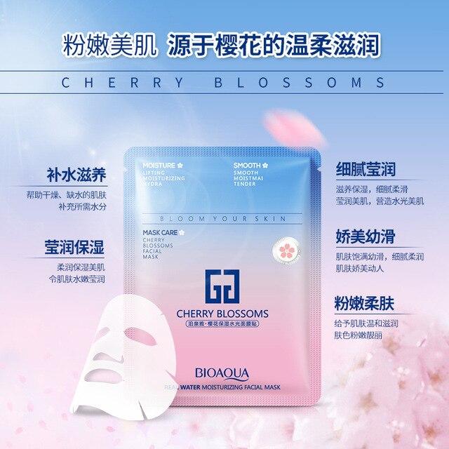 BIOAQUA Cherry Blossoms Sakura Facial Mask 3
