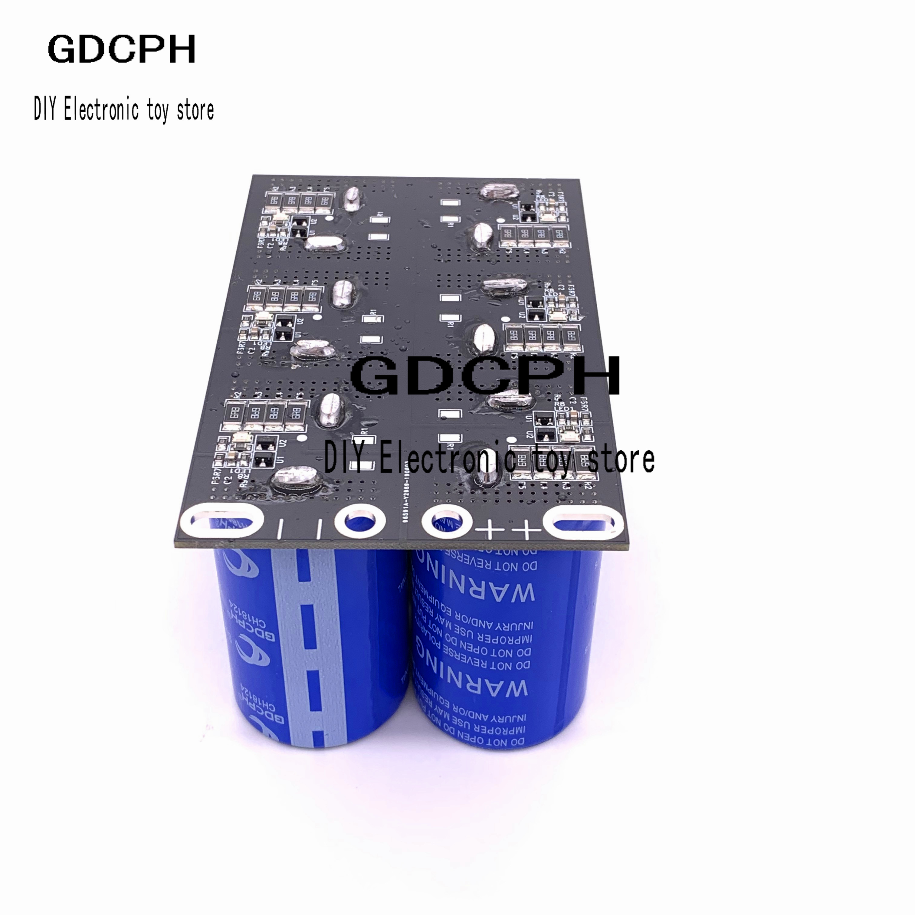 Automotive Rectifier Super Capacitor 16V83F 16V 83F Automotive Window Film Super Farad Capacitor 2.7V 500F