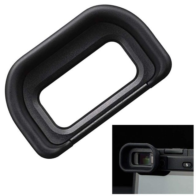 Parts Large Cover Camera Eyecup Eyepieces Clearer Viewfinder Outdoor Soft Ergonomic Stable Accessories Mini For Sony A6500