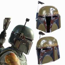 XCOSER Star Wars 9 Boba Fett Helmet The Mandalorian Full Head Mask Cosplay Prop Movie Replica New Men(China)