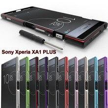 Ốp Lưng Kim Loại Dành Cho Sony Xperia XA1 Plus Ban Đầu Hợp Kim Nhôm Ốp Điện Cho Sony XA1 Plus 5.5 Capa G3412 g3421 G3423 3416