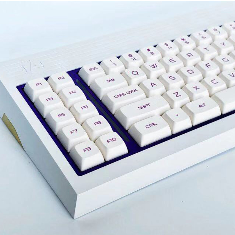 Milk Purple Keycaps Five-sided Sublimation Personalized Mechanical Keyboard For FILCO LEOBOD Key Caps