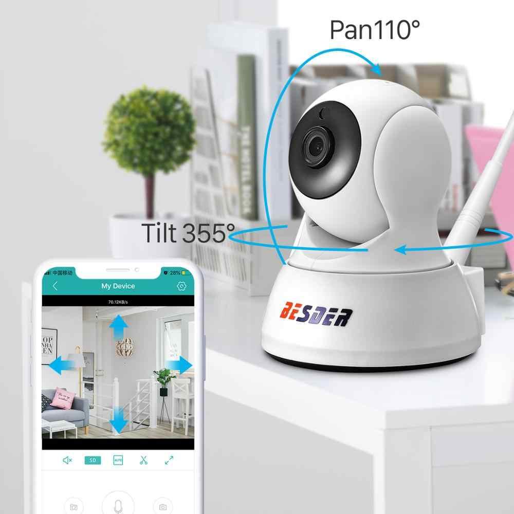 BESDER 1080P 720P Home Security กล้อง IP Two WAY Audio ไร้สายมินิกล้อง Night Vision กล้องวงจรปิด WiFi กล้อง baby Monitor iCsee