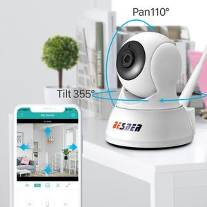 Image 2 - BESDER 1080P אבטחת בית IP המצלמה שתי דרך אודיו אלחוטי מיני מצלמה ראיית לילה Cctv WIFI מצלמה ענן אחסון תינוק צג