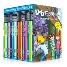 26 Books/set A To Z Mysteries Ron Roy Children Detective Reasoning Novel Children's Elementary Chapter Novels English Book Sets