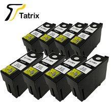 Tatrix 8 sztuk T1361 kompatybilny tusz kartridż do epson siły roboczej K101 K201 K301 drukarka atramentowa