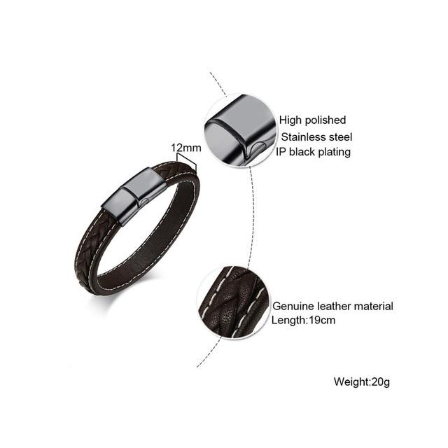 leather lover Find jewelry silver bracelet 2