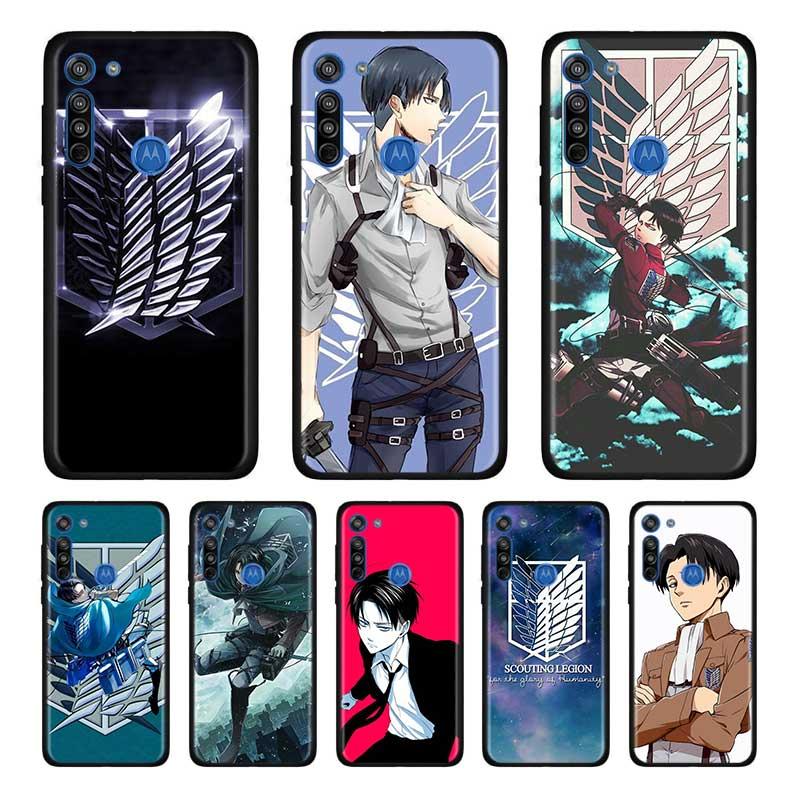 Anime Japanese Attack On Titan Soft Case For Motorola Edge Plus Moto G Stylus G8 G Power G8 Plus Play One Hyper E6s Case Shell