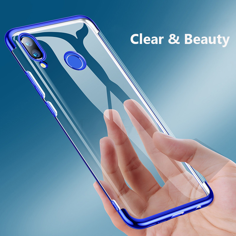 Clear Case for HUAWEI HONOR 20 Pro 10i View 20 7A 7S 9A 9C 8A 8C 8X 9 10 Lite P30 P40 Lite E Slim Clear Soft TPU Silicone Cover(China)