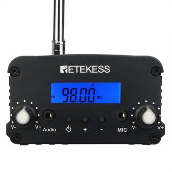 Retekess 10 V112 Radio + TR509 Wireless FM Transmitter Broadcast Stereo Radio Station For Drive-in Church Meeting Parking Cinema 2