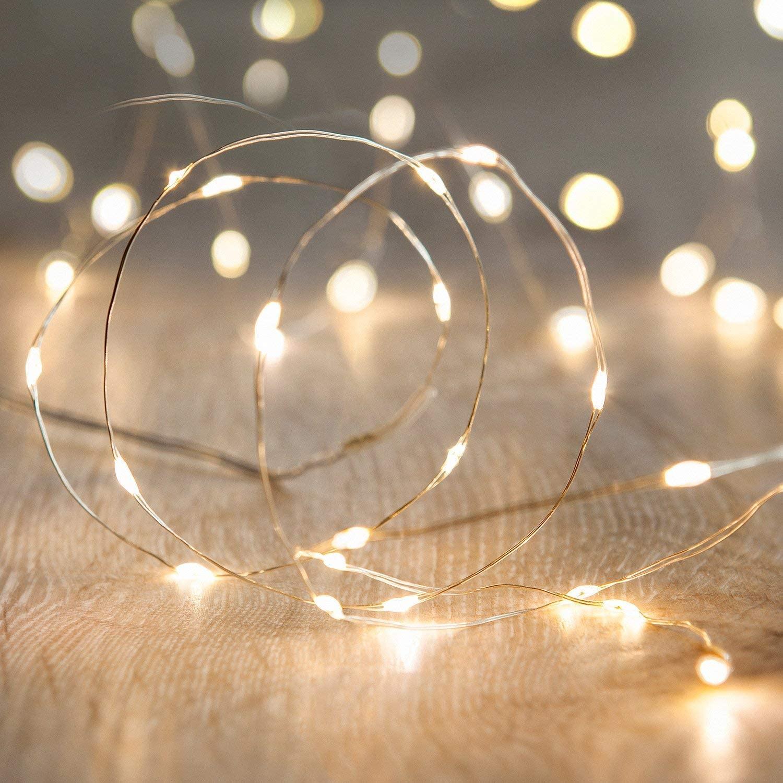 Светодиодный Сказочный светильник s 2 м 20 светодиодный s, светильник в виде летучей мыши с питанием от батареек, вечерние украшения для свадь...