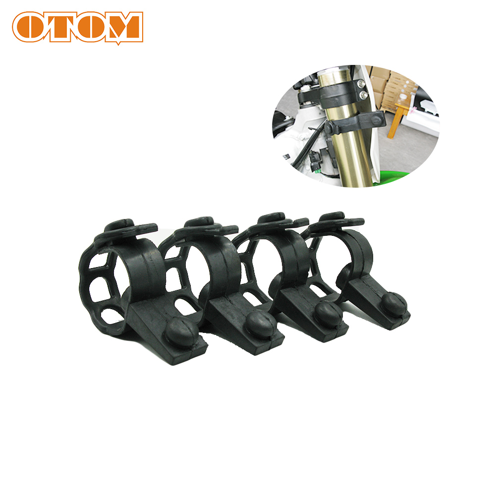 OTOM Motorcycle Headlight Fixing Strip Rubber Strips For KTM EXC XCF SXF FC TC FE TE FX TX 125 150 250 350 450 500