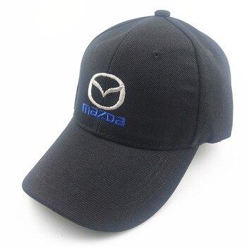 Унисекс хлопковая бейсболка с логотипом автомобиля для Mazda Trucker кепка бейсболка Snapback Мужские бейсболки      АлиЭкспресс