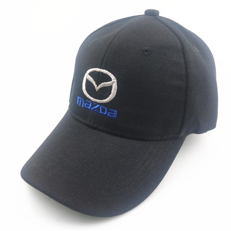 Унисекс хлопковая бейсболка с логотипом автомобиля для Mazda Trucker кепка бейсболка Snapback