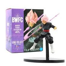 18cm Anime Dragon Ball Super Saiyan Goku Black Zamasu PVC Figures Dragon Ball Z BWFC Goku Figurine Model Toys стоимость