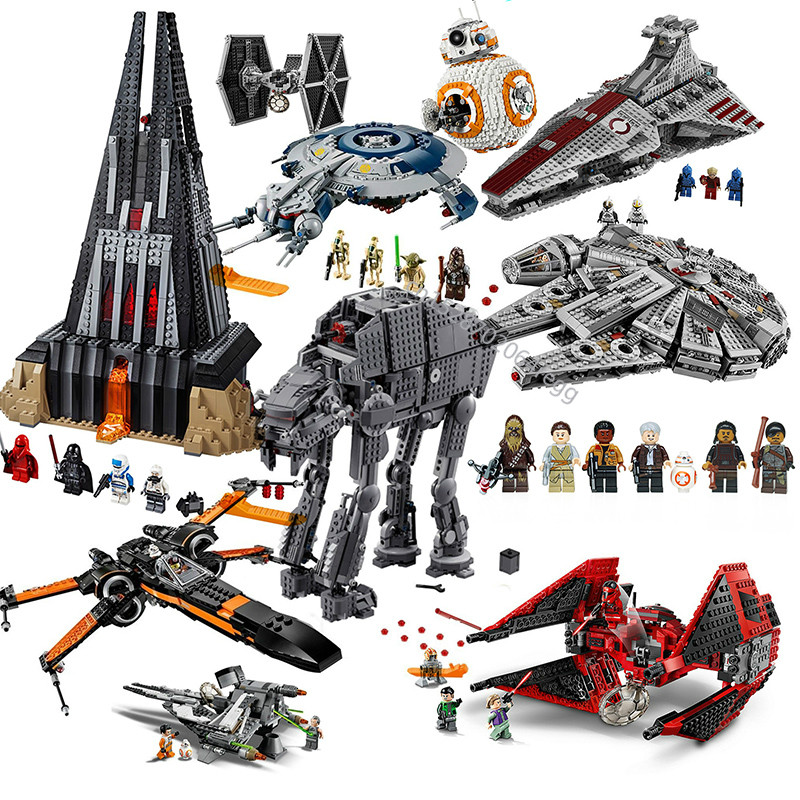 <font><b>05041</b></font> Compatible lepining StarWars 75240 79211 Millennium 05007 Falcon Spacecraft Building Blocks Birthday Gift Toys 75256 75251 image