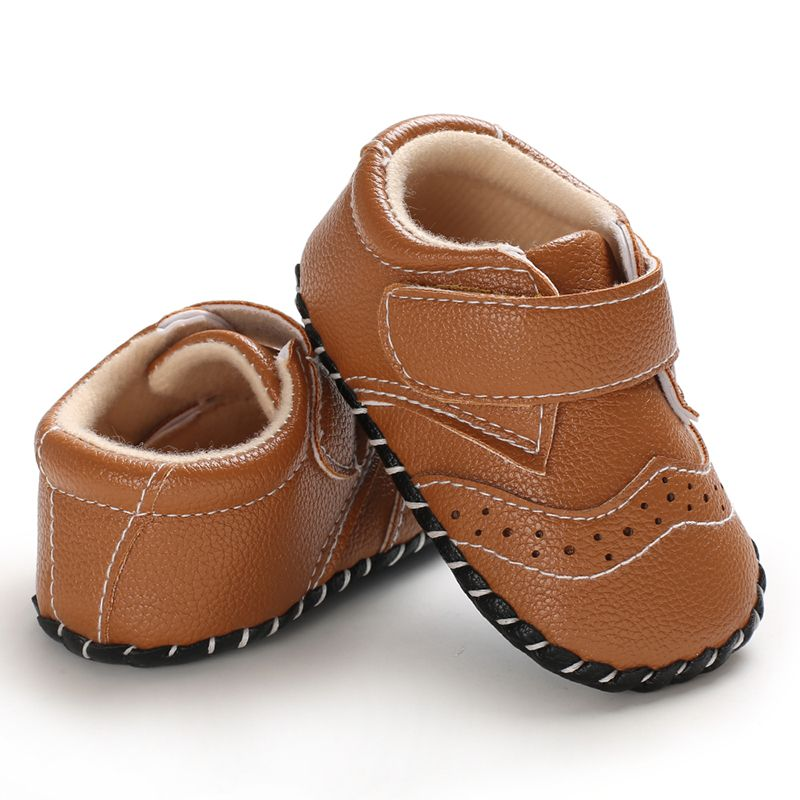 Baby Shoes PU Leather Sports Sneakers Toddler Infant Soft Anti-slip Newborn Baby Shoes Boys Girls First Walkers