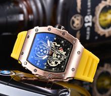 2020 AAA Richard edycja limitowana zegarek kwarcowy Mille mężczyźni wodoodporne zegarki Reloj Hombre męskie zegarki Top marka luksusowe tanie tanio ANGLANG Luxury ru QUARTZ STAINLESS STEEL Nie wodoodporne CN (pochodzenie) Klamra 15mm Hardlex 22inch Skórzane 44mm RUBBER