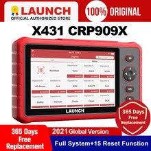Lançamento x431 crp909x obd2 scanner sistemas completos leitor de código automático wifi ferramenta de diagnóstico obdii eobd ferramenta automotiva pk crp909 mk808