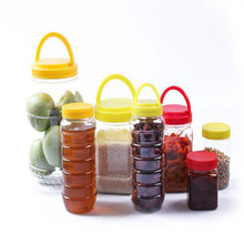 plastic honey jar honey accessories honey storage box 500g 1000g free shipping