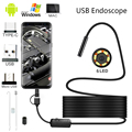 5.5mm lens Camera Endoscope IP67 1/2/3.5/5/10 M Hard Flexible Tube Mirco USB Borescope Video Inspection for Android Endoscope