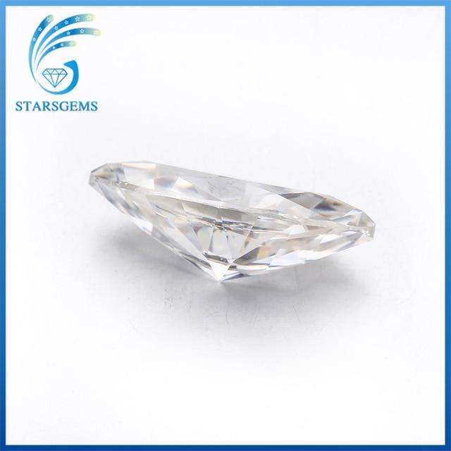 Starsgem 5*10 Mm Gh Test Positieve Vvs Losse Moissanite Marquise Cut Moissanite Bead Voor Ring Maken