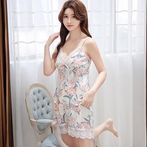 Image 4 - ชุดนอนชุดนอนชุดนอนสตรีชุดนอนชุดสตรี Plus ขนาดฤดูร้อนชุดนอนสตรีชุดนอนนุ่ม Pj Lounge ชุดกางเกงขาสั้น Whosalesale