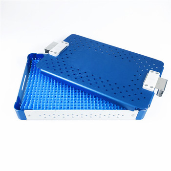 Disinfection tray box Sterilization case for dental sterilizing Ophthalmic surgical instrument tools