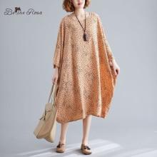 BelineRosa 5xl 6xl 7xl Big Size Holiday Dresses Early Autumn Polka Dot Batwing Plus Size DressDBFS0057 женское платье aofuli twods off batwing 5xl 8 8l15269a63