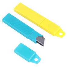 Office-Supplies Utility-Knife Stationery Cutter Blade Durable with Art 100mmx18mm Silver