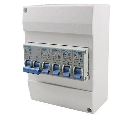Breaker, Mini, Circuit, Capacity, Plastic, Case