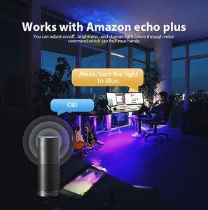 Image 2 - Zigbee led rgbcctミニコントローラスマートテレビストリップライト 5v usbコントローラalexaによるエコープラス音声制御zigbeeハブsmartthings